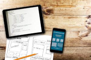kod strony i projekt