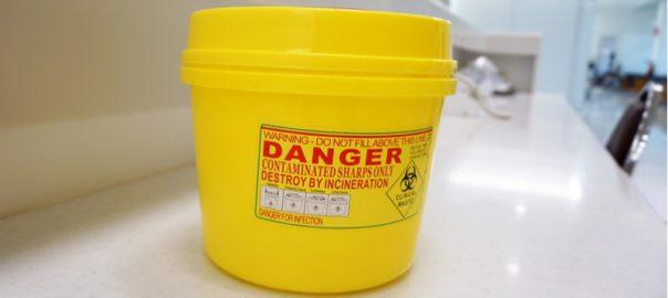 Artykuły do gospodarowania odpadami medycznymi worki, pojemniki-min