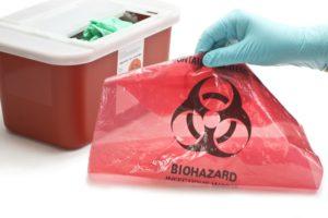 Które odpady medyczne są najbardziej niebezpieczne-min