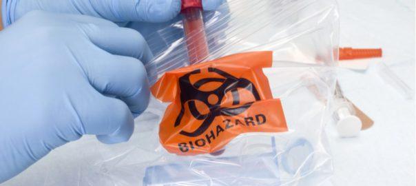 W jaki sposób oznacza się worki i pojemniki z odpadami medycznymi-min